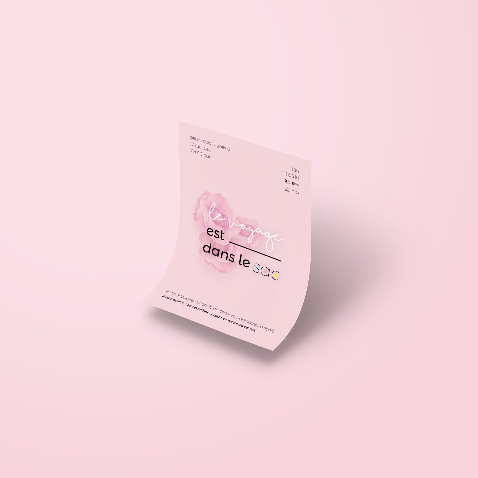 poster-secours-populaire-paris-print